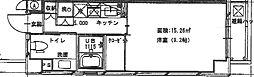 Meison de nakashima(メゾン・ド・ナカシマ)[104 304 404 504号室]の間取り