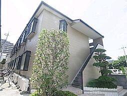 東京都足立区東和4の賃貸アパートの外観