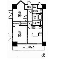 フレックス21博多II[5階]の間取り