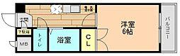 奈良県生駒郡三郷町城山台1丁目の賃貸マンションの間取り