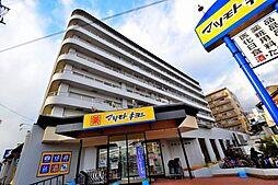 大阪府大阪市阿倍野区万代1丁目の賃貸マンションの外観