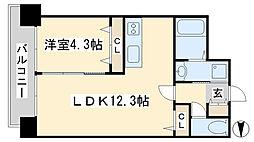 アヴァンセ片野グランデ[3階]の間取り