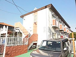 埼玉県坂戸市千代田3丁目の賃貸アパートの外観