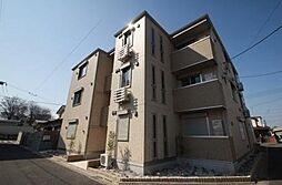 東京都府中市西府町1丁目の賃貸アパートの外観
