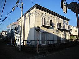 会田ハイツB[202号室]の外観