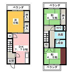 ミタックスマンション[3階]の間取り