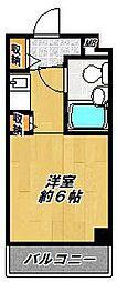 ダイケンビル光善寺[302号室]の間取り