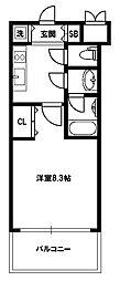 スプランディッド新大阪III[7階]の間取り