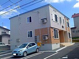 北海道札幌市豊平区月寒東三条19丁目の賃貸アパートの外観