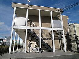 大阪府八尾市西高安町4丁目の賃貸アパートの外観