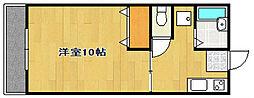 グレース葵東[1階]の間取り