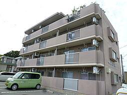 静岡県磐田市下岡田の賃貸マンションの外観