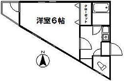 コート狛江[301号室]の間取り