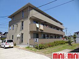 佐賀県佐賀市兵庫北7の賃貸アパートの外観