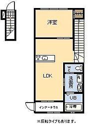 (新築)ラ・カンパネラ[203号室]の間取り