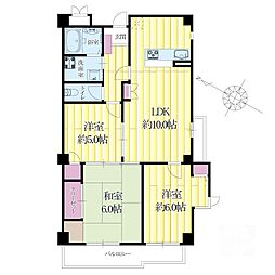 An House[3階]の間取り
