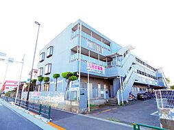 東京都東久留米市八幡町3丁目の賃貸マンションの外観