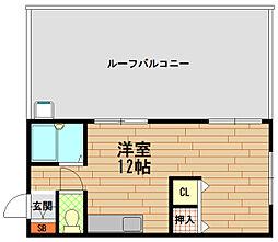兵庫県神戸市兵庫区入江通1丁目の賃貸マンションの間取り