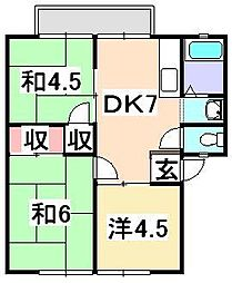シティパルSai[2階]の間取り