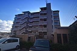 大阪府八尾市青山町3丁目の賃貸マンションの外観