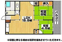 小堺ビル[2階]の間取り