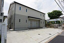 京都府八幡市八幡山田の賃貸アパートの外観