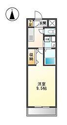 NVS[4階]の間取り