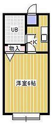 サンポップ新松戸[2階]の間取り