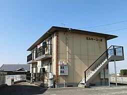 香川県観音寺市大野原町花稲の賃貸アパートの外観
