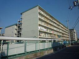 金剛グリーンハイツHA棟[6階]の外観