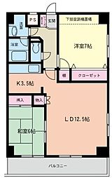 第5SKビル[1102号室]の間取り