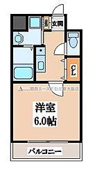 グッドライフ岩田[5階]の間取り