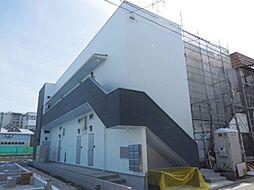 兵庫県尼崎市瓦宮1丁目の賃貸アパートの外観
