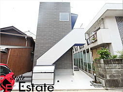 愛知県名古屋市中村区中村町5丁目の賃貸アパートの外観