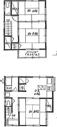 [一戸建] 東京都足立区西伊興2丁目 の賃貸【/】の間取り