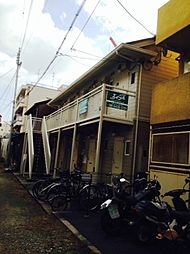 兵庫県尼崎市神田北通6丁目の賃貸アパートの外観