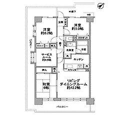 ルネ小田急相模原モア・ステージ[10階]の間取り
