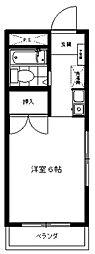 三田1092[206号室号室]の間取り