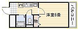 リトゥール澤[601号室]の間取り