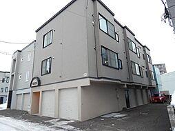 北海道札幌市豊平区美園十一条6丁目の賃貸アパートの外観