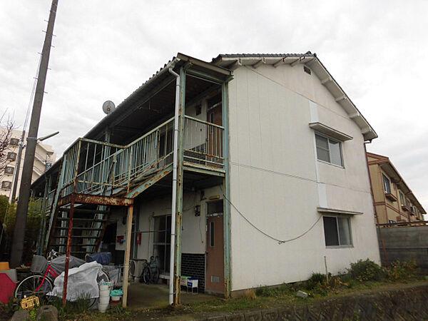兵庫県小野市黒川町の賃貸アパートの外観