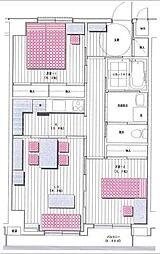 第6ストークマンション[3階]の間取り