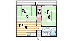 大政ビル1号館[403号室]の外観
