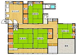 [一戸建] 愛媛県新居浜市新須賀町1丁目 の賃貸【/】の間取り