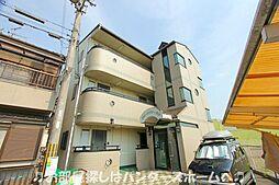 大阪府枚方市田口3丁目の賃貸マンションの外観