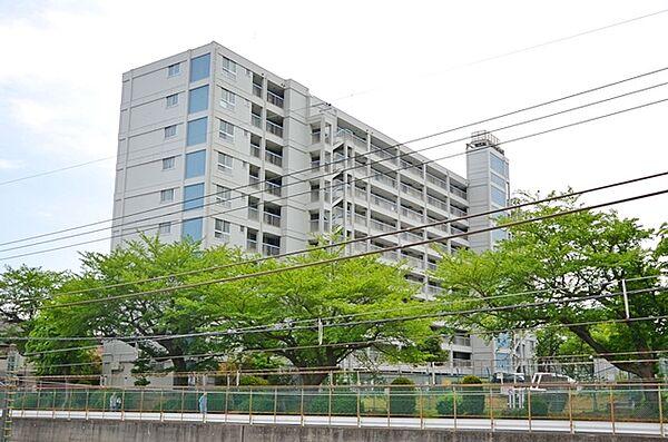 所沢コーポラス[4階]の外観