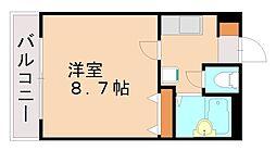 福岡県福岡市城南区松山2丁目の賃貸マンションの間取り