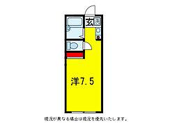 Mレスポワール大塚[1階]の間取り