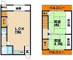 伊藤文化[1階]の間取り