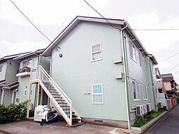 東京都東村山市富士見町2丁目の賃貸アパートの外観